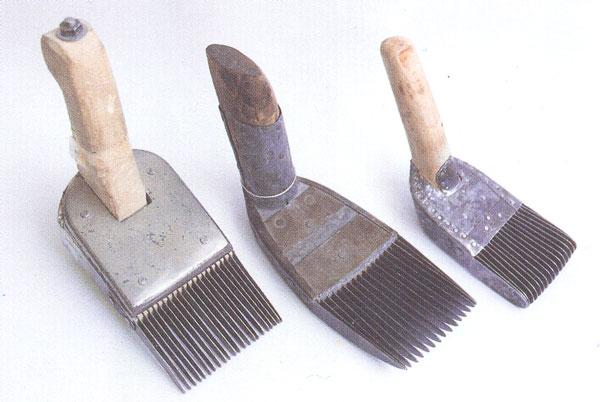 انواع دفتین دسته چوبی